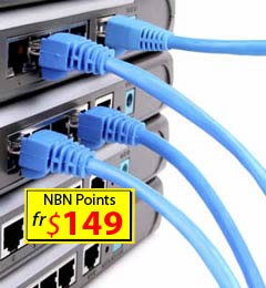 Frematle cabling Data phone Lan Network